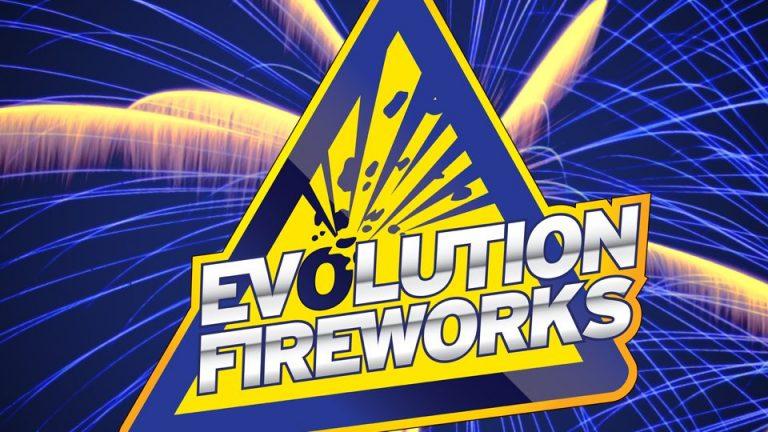 Nieuw Bij VUURWERKBUNKER.NL: Evolution Fireworks!