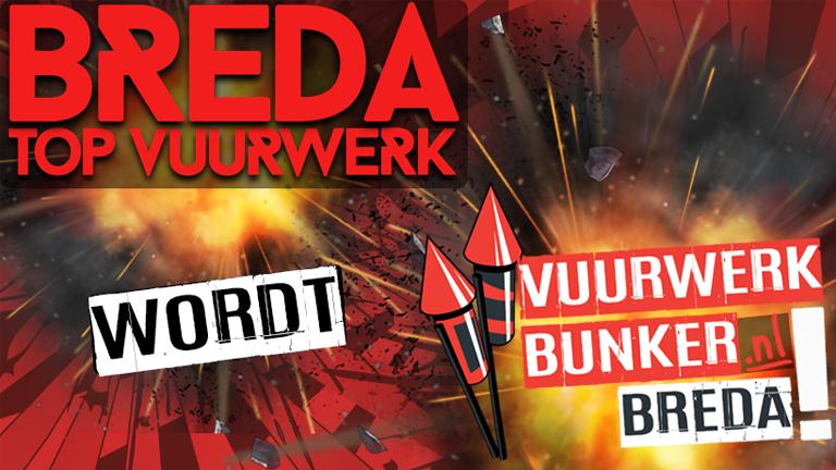 Nieuw! Vuurwerkbunker.nl Breda